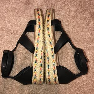 Shoes - NEVER WORN ONE TOE SANDAL!!!